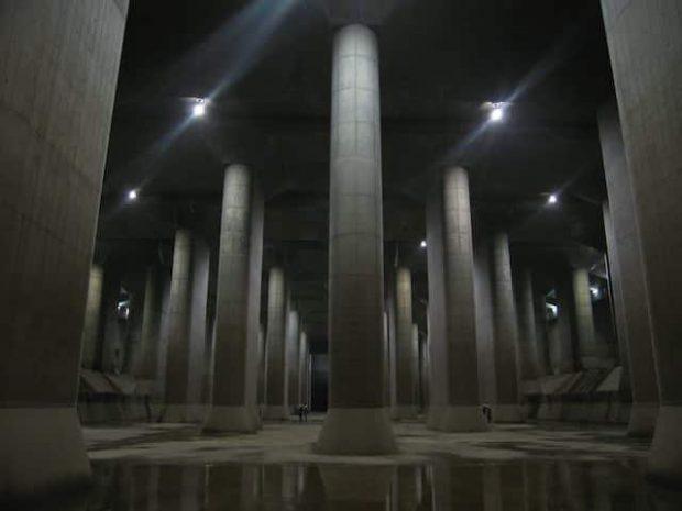 lu chống ngập Tokyo
