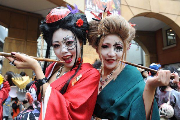 Ngọt ngào và kinh dị Ma cà rồng trong Halloween Nhật Bản