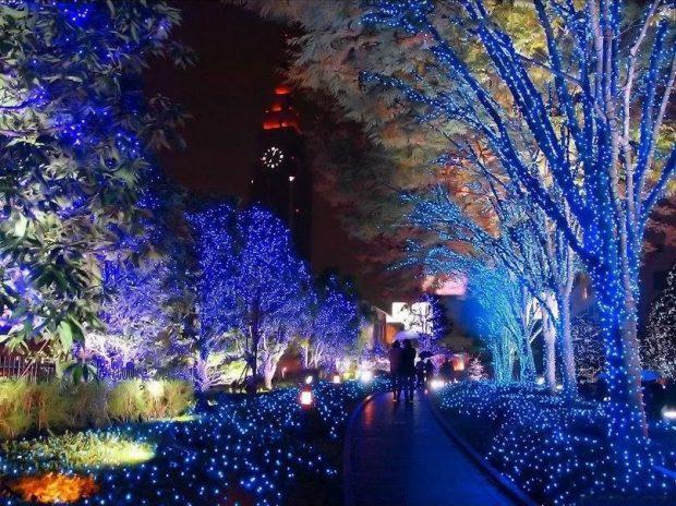 Lễ hội anh sáng và đón năm mới ở Nhật bản
