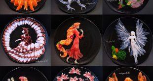 Nghệ thuật Sashimi tuyệt đẹp từ những lát cá