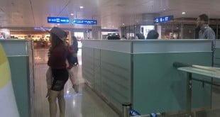 Quầy làm thủ tục Nhập cảnh sân bay Kansai, Osaka rất đơn giản và dễ chịu