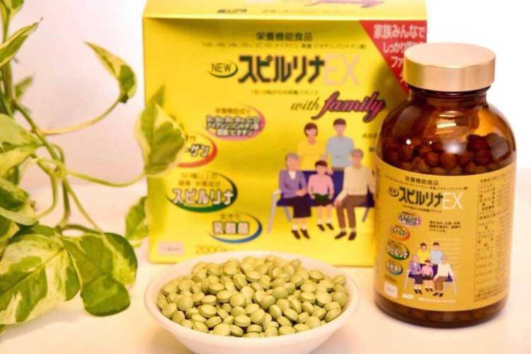 Tảo vàng Spirulina EX DIC, Tảo xoắn Nhật Bản cao cấp - Du lịch ...