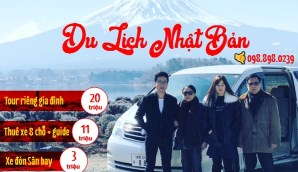 Tour riêng gia đình du lịch Nhật bản