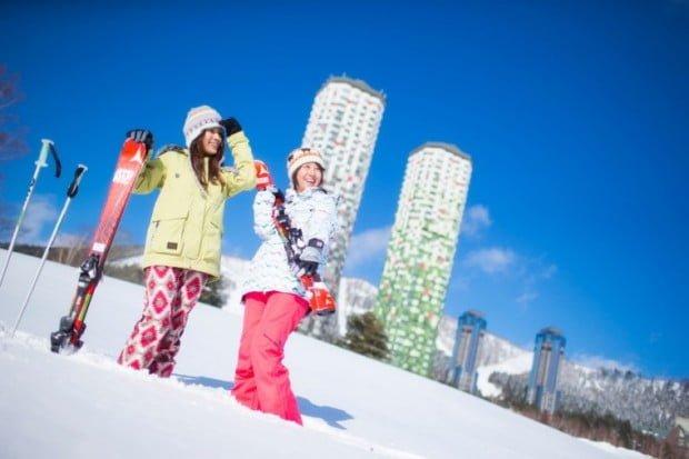trượt tuyết sớm ở Nhật