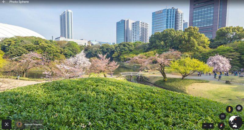 Hoa Anh Đào và cảnh vật tuyệt đẹp tại Koishikawa Korakuen
